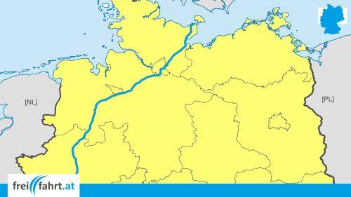 Deutschland Autobahn Raststationen